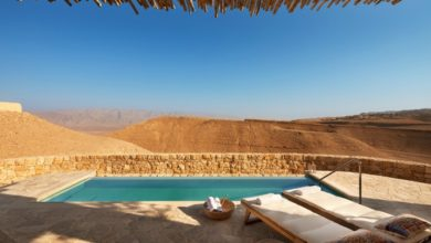 Photo of First Glimpse of the Desert Colors and Dunescape at Six Senses Shaharut in Israel